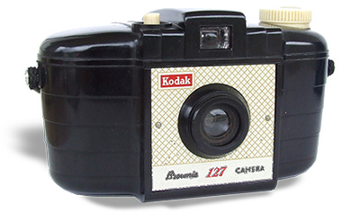 Kodak Brownie 127 bakelite camera